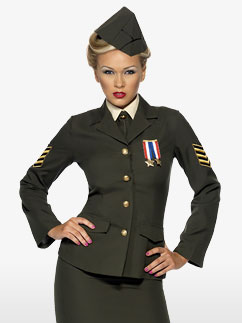 Wartime Officer Lady