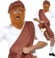 Well Hung Highlander - Adult Costume Fancy Dress