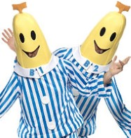 Bananas in Pyjamas - Adult Costume Fancy Dress