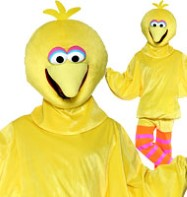 Sesame Street Big Bird - Adult Costume Fancy Dress