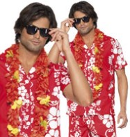 Hawaiian Hunk - Adult Costume Fancy Dress