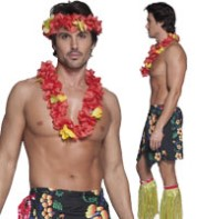 Hawaiian Man - Adult Costume Fancy Dress