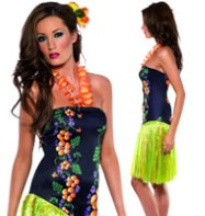 Luscious Luau - Adult Costume Fancy Dress