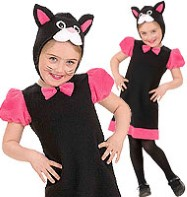 Pink Kitty - Toddler Costume Fancy Dress