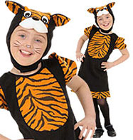 Cute Tiger - Toddler Costume Fancy Dress