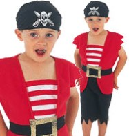 Pirate - Toddler Costume