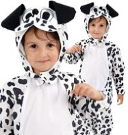 Dalmation Dog - Toddler Costume Fancy Dress
