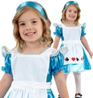 Alice - Toddler Costume Fancy Dress