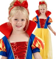 Snow Girl - Child Costume Fancy Dress