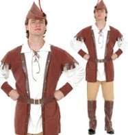 Robin Hood - Adult Costume Fancy Dress