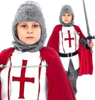 Fancy Dress - Boys Knight - Small
