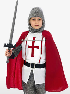 Knight - Child Costume Fancy Dress