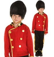 Busby Guard - Child Costume Fancy Dress