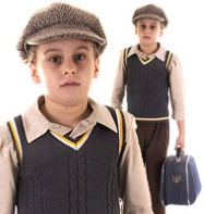 Evacuee Boy - Child Costume Fancy Dress