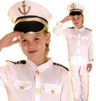 Captain - Child Costume Fancy Dress