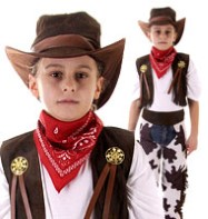 Cowboy - Child Costume Fancy Dress