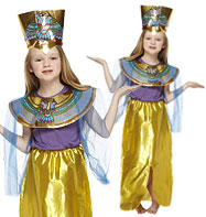 Queen of the NIle - Child Costume Fancy Dress