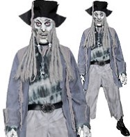 Zombie Ghost Pirate - Adult costume Fancy Dress