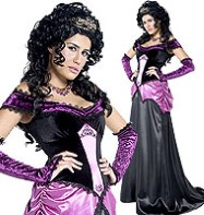 Countess Nocturna - Adult Costume Fancy Dress