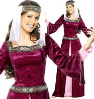 Fancy Dress Female Maid Marion - Small