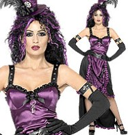 Goth Witch - Adult Costume Fancy Dress