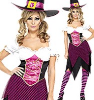 Colourful Cutie Witch - Adult Costume Fancy Dress