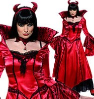 Devils Temptress - Adult Costume Fancy Dress