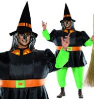 Witch Inflatable Suit - Adult Costume Fancy Dress