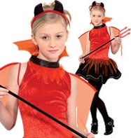 Devil - Teenager Costume Fancy Dress