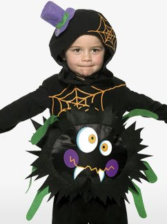 Crazy Spider - Toddler Costume Fancy Dress