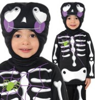 Cutie Skeleton - Toddler Costume Fancy Dress
