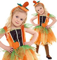 Pumpkin Fairy - Toddler Costume Fancy Dress