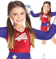 Cheerleader Retro - Child Costume Fancy Dress