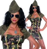 Major Trouble - Adult Costume Fancy Dress
