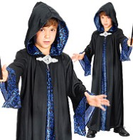 Wizard Robe - Child Costume Fancy Dress