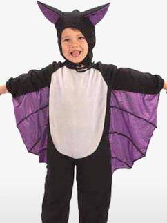 Bat Suit - Toddler Costume Fancy Dress
