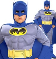 Batman Deluxe - Child Costume Fancy Dress