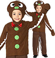 Little Gingerbread Man - Toddler Costume Fancy Dress