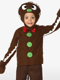 Little Gingerbread Man - Toddler and Child Costume Fancy Dress