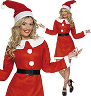 Miss Santa Bargain - Adult Costume Fancy Dress