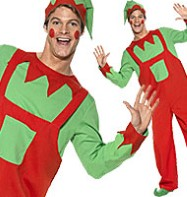 Workshop Elf - Adult Costume Fancy Dress