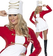Sexy Toy Soldier - Adult Costume Fancy Dress