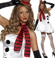 Sexy Snowman - Adult Costume Fancy Dress