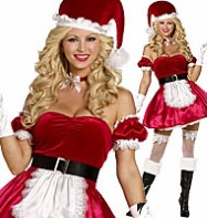 Santa's Helper - Adult Costume Fancy Dress