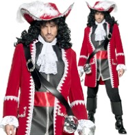 Pirate Captain - Adult Costume Fancy Dress