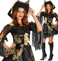 Pirate Woman - Adult Costume Fancy Dress