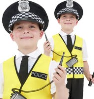 Police Boy - Child Costume Fancy Dress