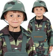Army Boy - Child Costume Fancy Dress