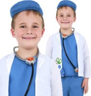 Vet/Doctor - Child Costume Fancy Dress