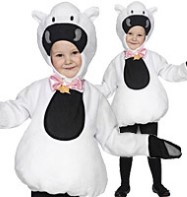Sheep Tabbard - Child Costume Fancy Dress